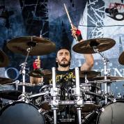 Drummer Nicolas Bastos - Motocultor 2014