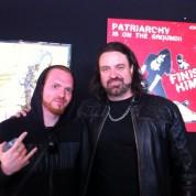 Olivier et Russel Allen - Hellfest