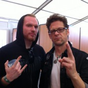 Olivier et Jason NEwsted - Hellfest