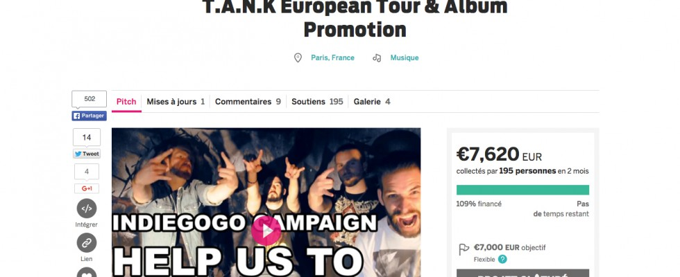 Crowdfunding campaign: thank you everybody!