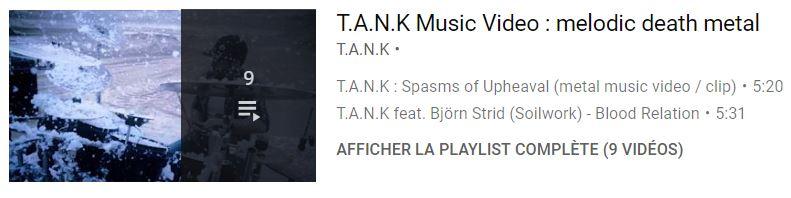 T.A.N.K playlist